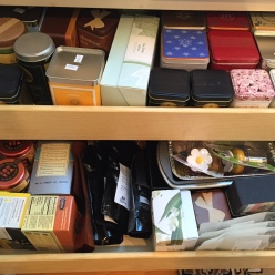 Something for every tea lover in Merredith's cupboard